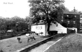 Former Tea Room at Hirst Lock