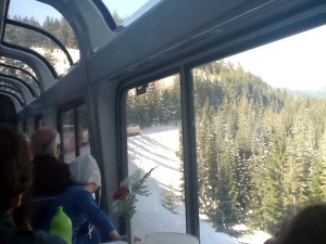 Oregon train window engine