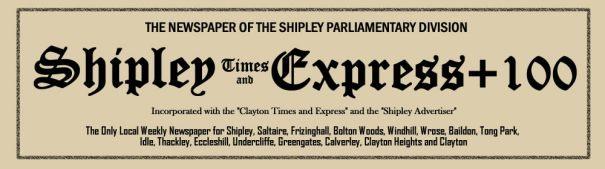 Shipley Times + 100 header