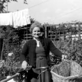 Mum with bike